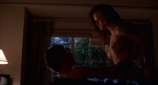 Kelly Preston nude topless, sex and hot see through - Spellbinder (1988) HD 1080p BluRay