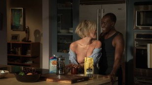 Kristen Bell hot cleavage and Nicky Whelan nude brief boobs - House of Lies (2016) S05E01 HDTV720p