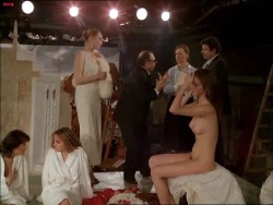 Isabelle Huppert nude, Myriem Roussel nude bush other's nude too - Passion (FR-1982) (16)
