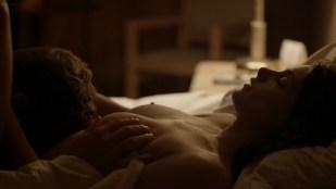 Ashley Greene nude topless riding a dude - Rogue (2016) s3e18 HD 1080p