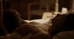 Ashley Greene nude topless riding a dude - Rogue (2016) s3e18 HD 1080p (3)