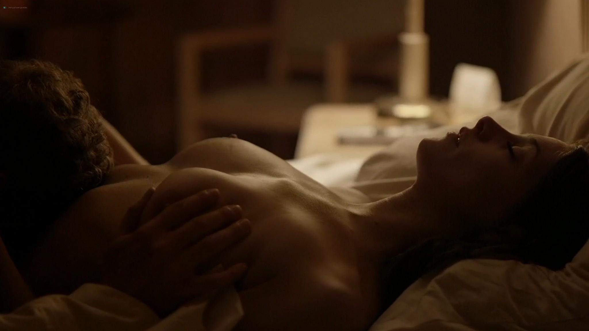 Ashley Greene nude topless riding a dude - Rogue (2016) s3e18 HD 1080p (2)