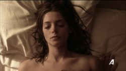 Ashley Greene nude topless riding a dude - Rogue (2016) s3e18 HD 720p (2)