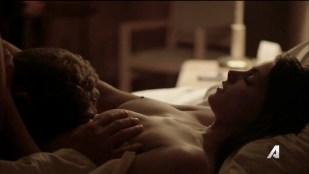 Ashley Greene nude topless riding a dude - Rogue (2016) s3e18 HD 720p