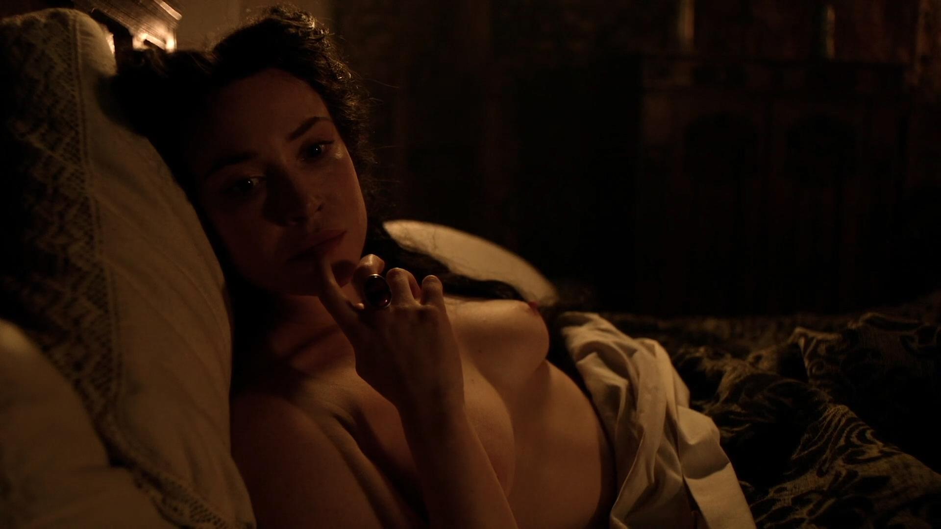 Daisy Lewis nude topless and sex - Borgia (2013) S02E01-02 HD 1080p (6)