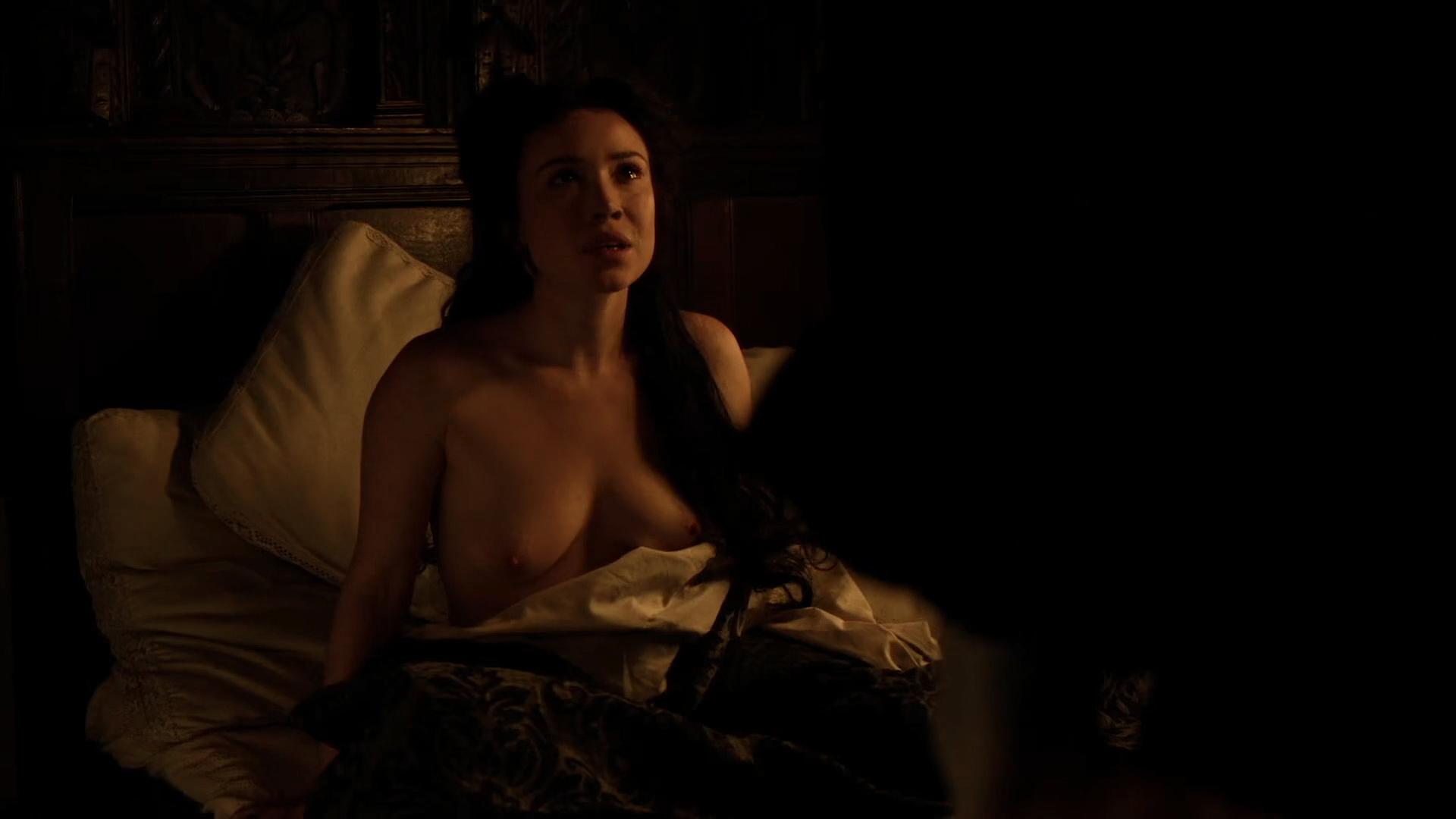Daisy Lewis nude topless and sex - Borgia (2013) S02E01-02 HD 1080p (2)