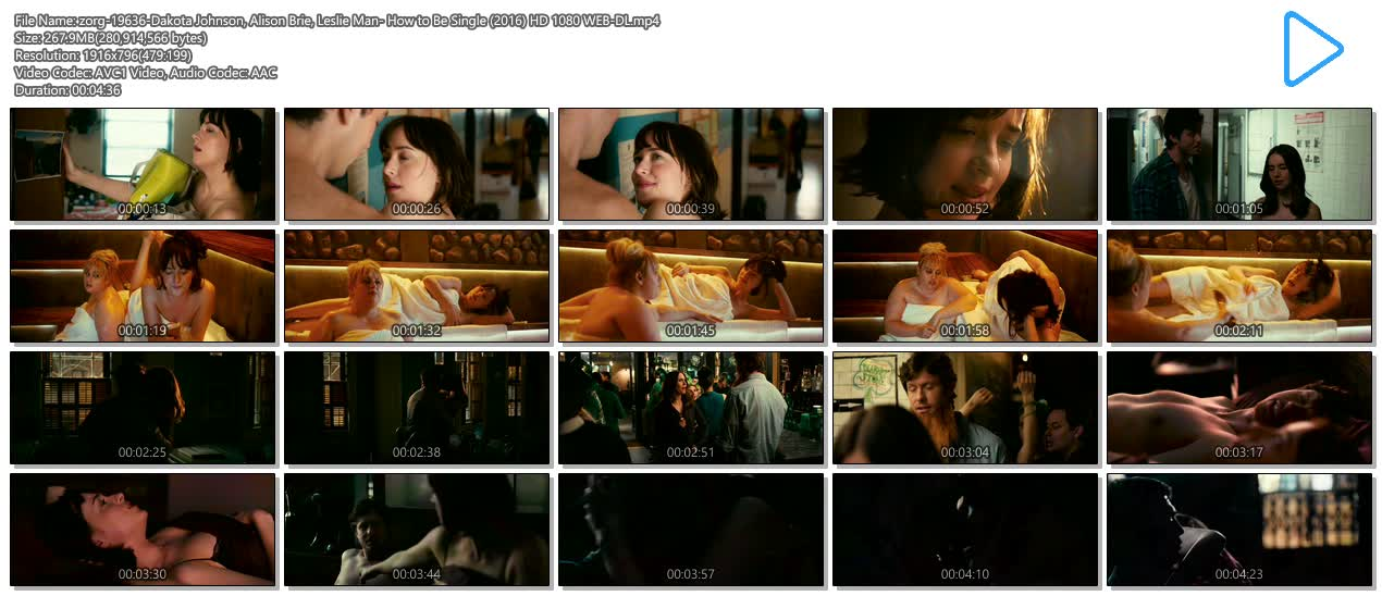 Dakota Johnson hot and sexy, Alison Brie hot cleavage and Leslie Man sex - How to Be Single (2016) HD 1080 WEB-DL (15)