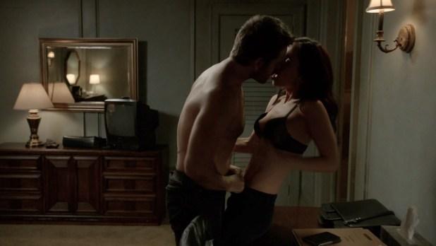 Eliza Dushku nude butt naked and sex Casey LaBow hot sex - Banshee (2016) S04E06 720-1080p HDTV (3)