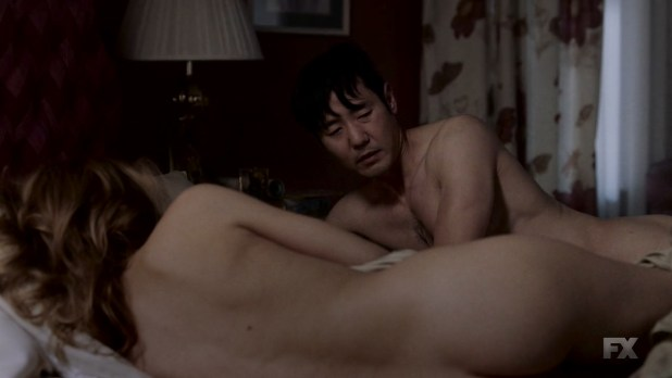 Keri Russell nude butt - The Americans (2016) s4e9 HD 720p (1)