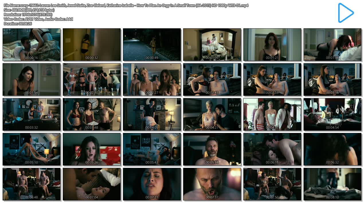 Lauren Lee Smith hot sex Jewel Staite hot Zoe Cleland nude and Katharine Isabelle - How To Plan An Orgy In A Small Town (CA-2015) HD 1080p WEB-DL (13)