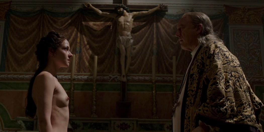 Marta Gastini nude butt, boobs and sex - Borgia (2013) S02 HD 1080p (2)
