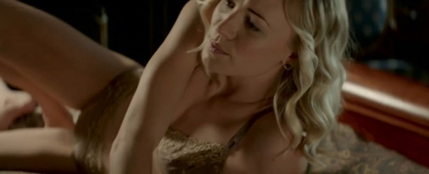 Yvonne Strahovski nude butt and boobs in hot sex scene - Manhattan Night (2016) HD 720-1080p Web-Dl (15)