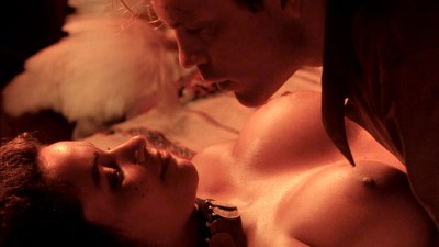 Debra Winger nude bush brief boobs and butt Amina Annabi nude topless- The Sheltering Sky (1990) HD 1080p BluRay (4)