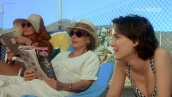 Joanna Going nude topless and butt and Samantha Mathis hot and wet - How to Make an American Quilt (1995) HDTV 720p (10)
