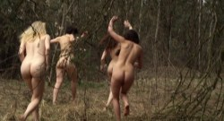 Julia Hummer nude bush Sarah Grether and Anna Eger nude full frontal - Top Girl (DE-2014) (10)