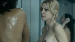 Maggie Civantos nude butt boobs and Berta Vázquez nude lesbian sex - Locked Up (ES-2015) s1 (13)