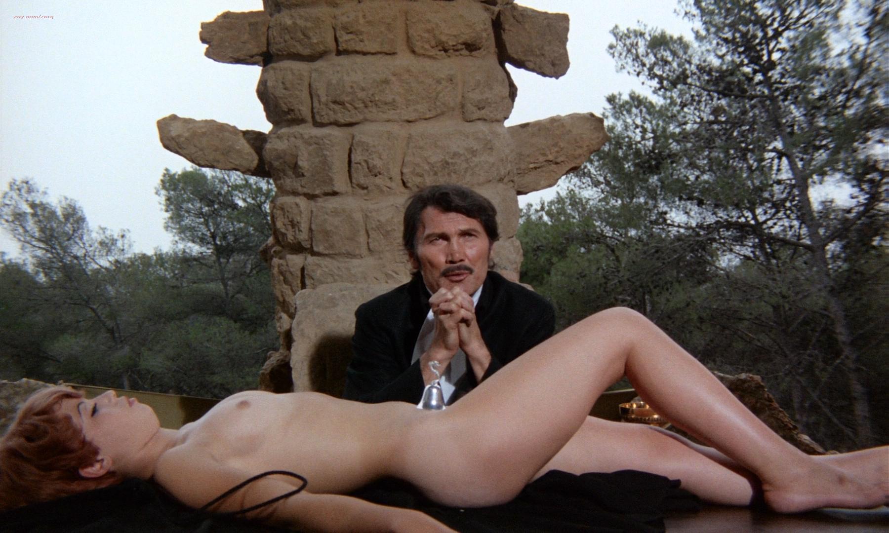 Romina Power nude toplees, Sylva Koscina nude Rosemary Dexter and Maria Rohm nude bush - Marquis de Sade - Justine (IT-1969) HD 1080p BluRay (7)