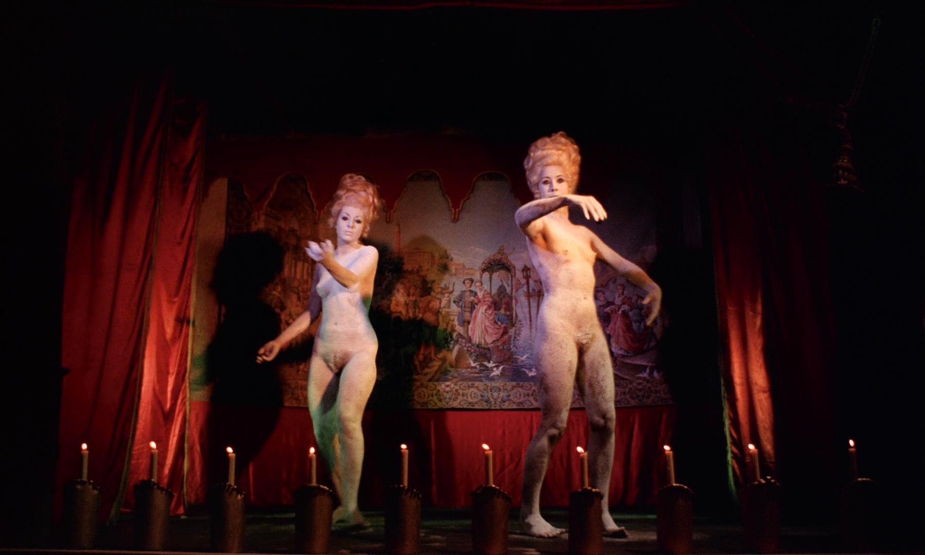 Romina Power nude toplees, Sylva Koscina nude Rosemary Dexter and Maria Rohm nude bush - Marquis de Sade - Justine (IT-1969) HD 1080p BluRay (5)