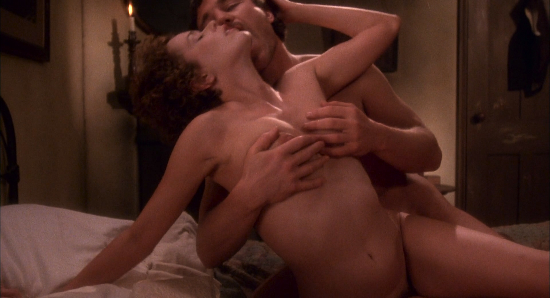 Sylvia Kristel nude full frontal, bush boobs and sex - Lady Chatterleys Lover (1981) HD 1080p BluRay (2)