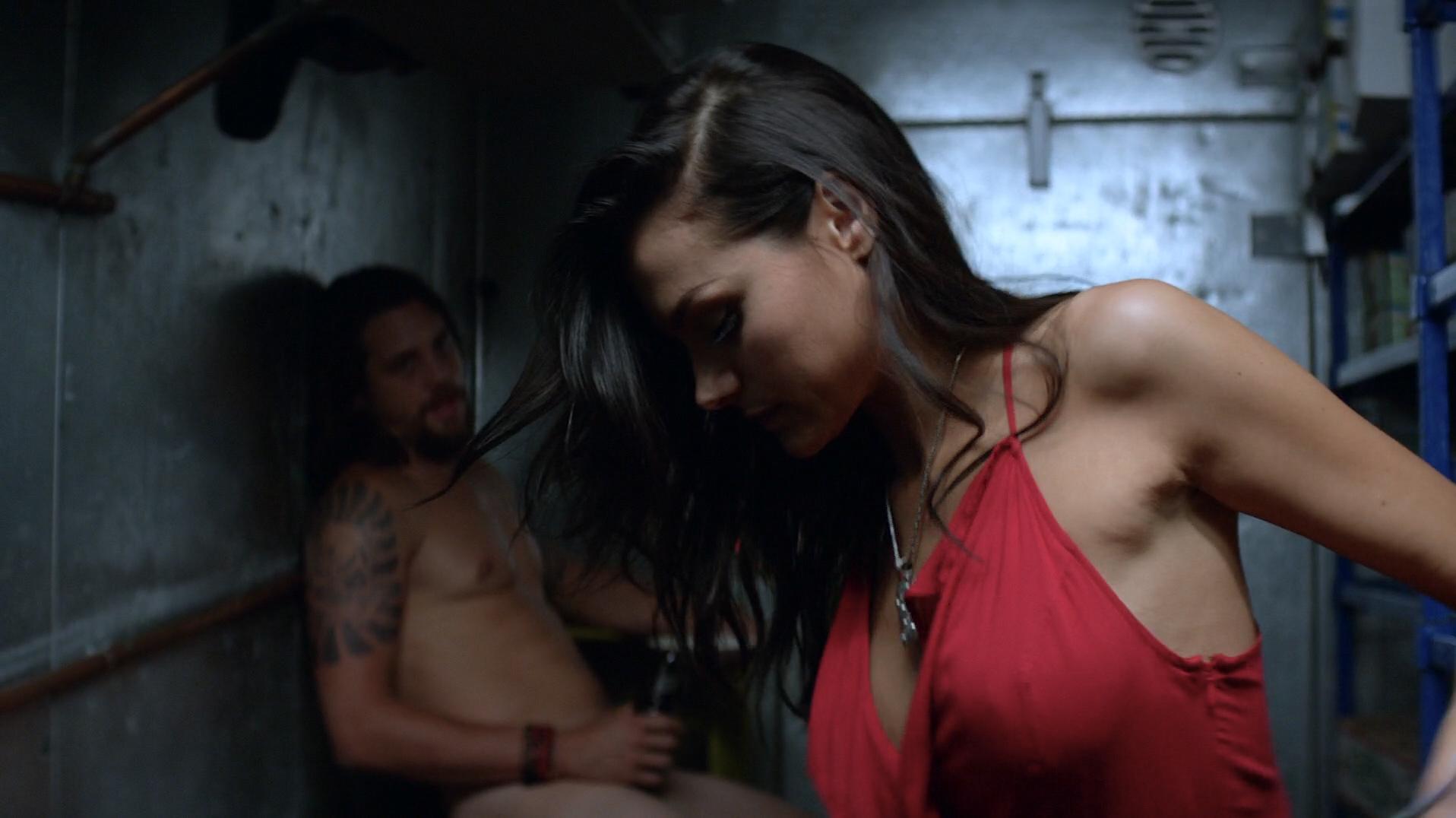 Christina Aloupi  nackt