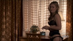 Julia Stiles hot and sexy some sex in lingerie - Blue (2014) s1e1-2 HDTV 720p (9)
