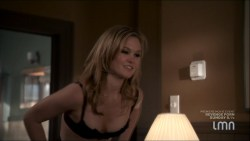 Julia Stiles hot and sexy some sex in lingerie - Blue (2014) s1e1-2 HDTV 720p (6)