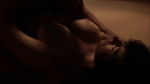 Kate Lyn Sheil nude topless and sex - Outcast (2016) s1e7 HD 1080p (3)