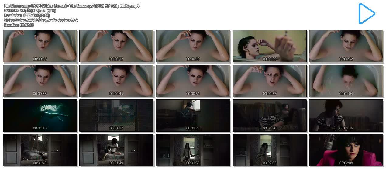 Kristen Stewart hot and sexy - The Runaways (2010) HD 720p BluRay (5)