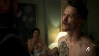 Lina Esco nude topless and Natalie Martinez nipple sex - Kingdom (2016) s3e6 HD 720p (7)