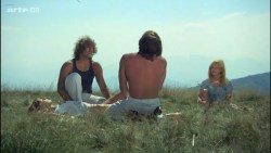 Miou-Miou nude bush, boobs and full frontal with Brigitte Fossey and Isabelle Huppert nude too - Les valseuses (FR-1974) HDTV 720p (16)