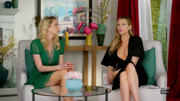 Sara Foster hot cleavage Erin Foster and Jessica Alba hot and sexy - Barely Famous (2016) S02E01 (10)