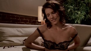Tricia Helfer  hot and sexy in lingerie - Memory (2006) HD 1080p BluRay