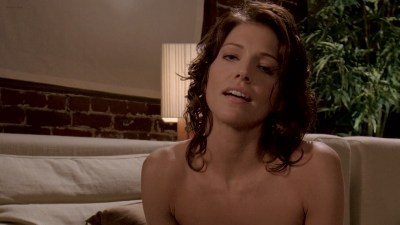Tricia Helfer hot and sexy in lingerie - Memory (2006) HD 1080p BluRay (1)