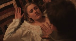 Greta Gerwig nude topless - Maggie's Plan (2015) HD 1080p (3)