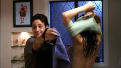 Jenny Mollen nude side boob Lisa Arturo nude Nicole Eggert hot other's nude - Cattle Call (2006) HD 1080p BluRay (13)