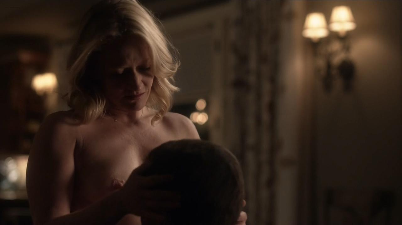 Paula Malcomson nude topless and Embeth Davidtz nude too - Ray Donovan (2016) s4e6 HD 720p (4)