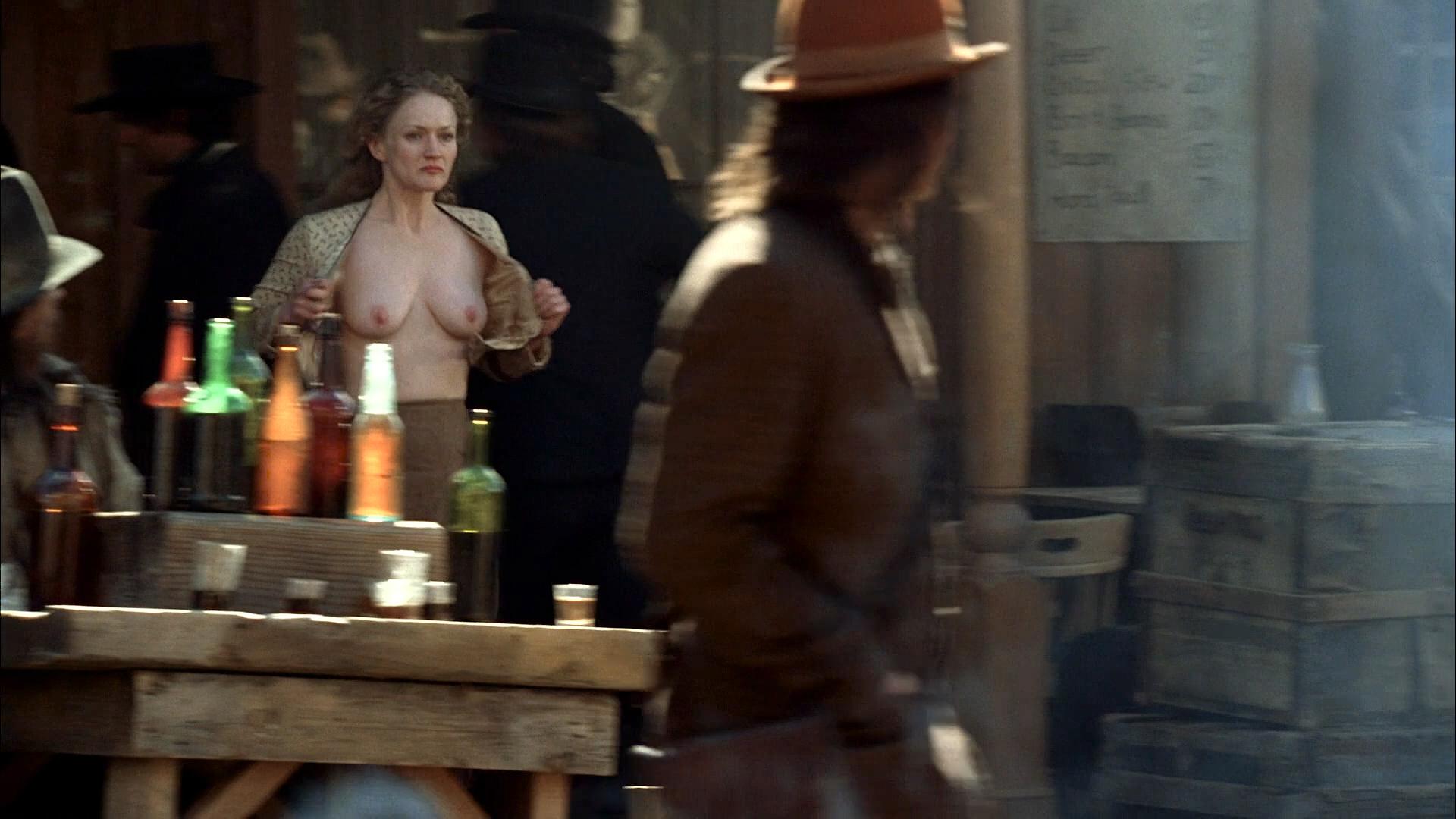 Paula Malcomson nude topless and bush - Deadwood (2006) s3e11HD 1080p (10)