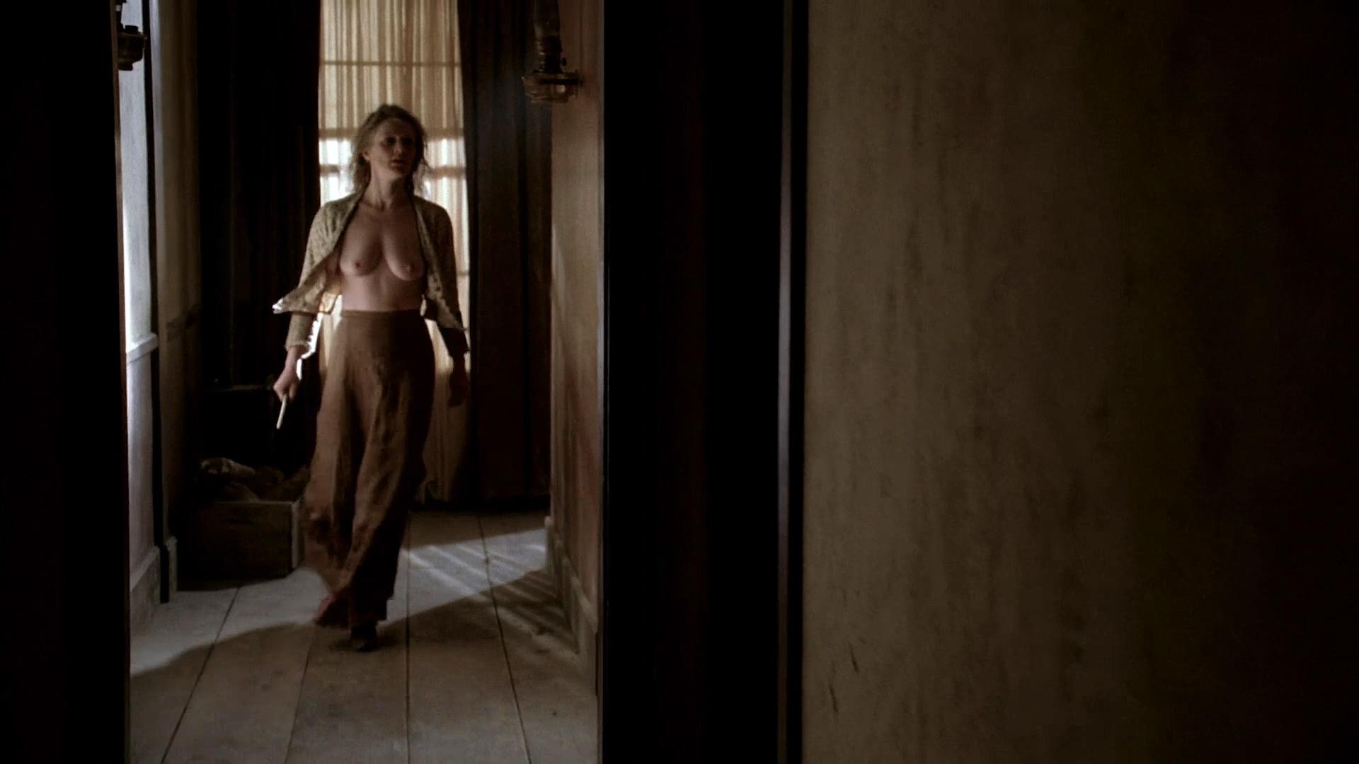 Paula Malcomson nude topless and bush - Deadwood (2006) s3e11HD 1080p (4)