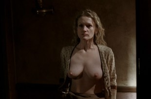 Paula Malcomson nude topless and bush – Deadwood (2006) s3e11HD 1080p