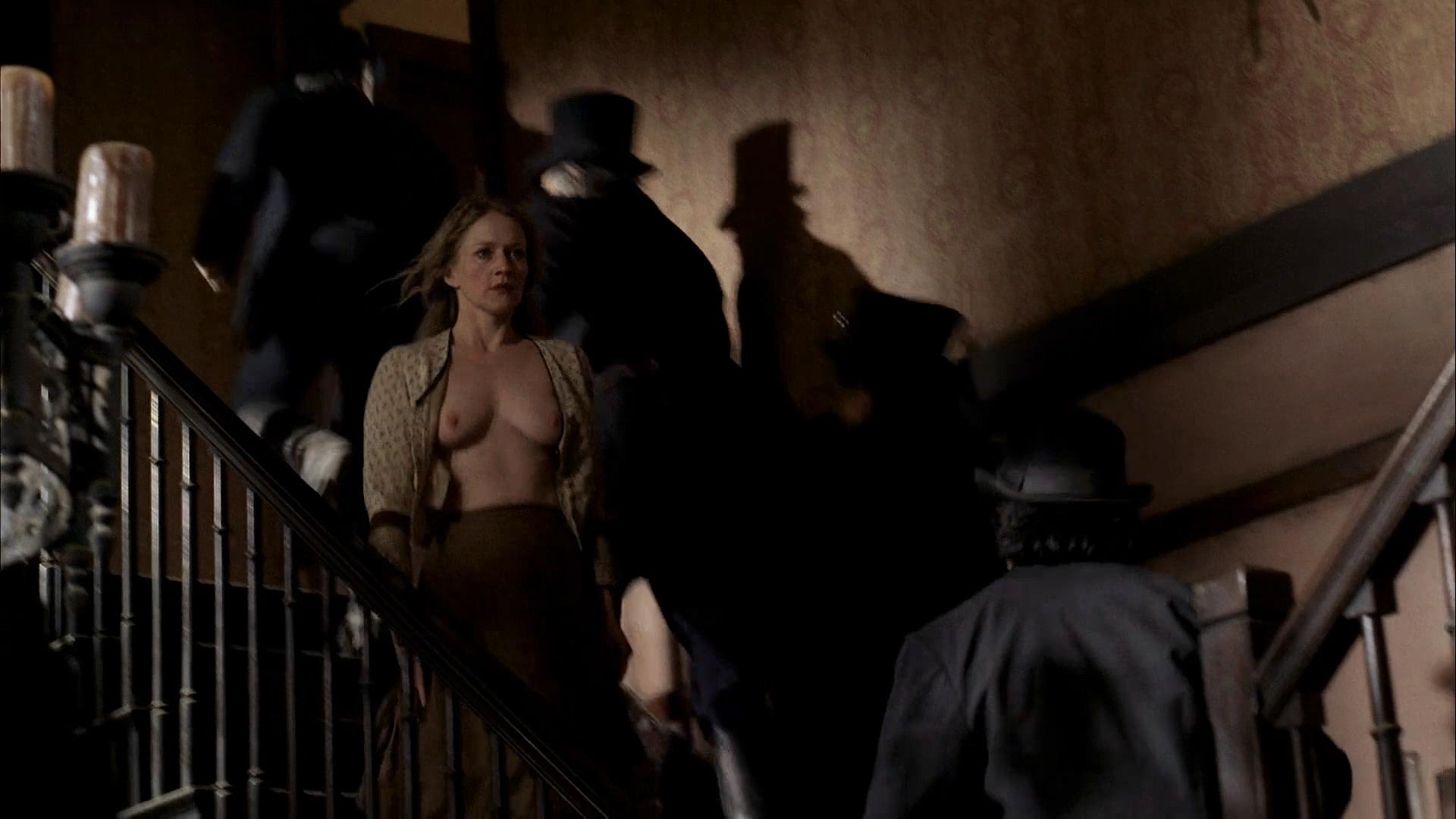Paula Malcomson nude topless and bush - Deadwood (2006) s3e11HD 1080p (12)