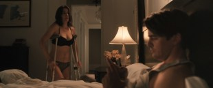Cobie Smulders hot and very sexy in lingerie - The Intervention (2016) HD 1080p