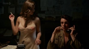 Jenna-Louise Coleman hot and busty and Joanna Vanderham hot sex - Dancing on the Edge (2013) ep1 hd720p
