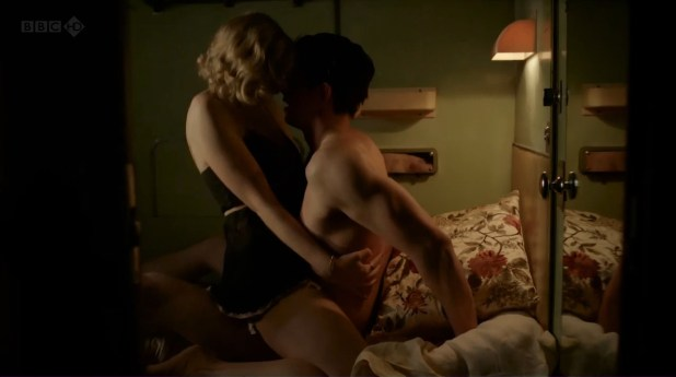 enna-Louise Coleman hot and busty and Joanna Vanderham hot sex - Dancing on the Edge (2013) hd720p (1)