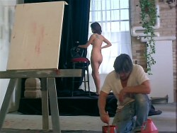 Kari Wuhrer nude full frontal, bush, butt, boobs and sex - Vivid (1999) (11)