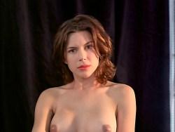 Kari Wuhrer nude full frontal, bush, butt, boobs and sex - Vivid (1999) (6)