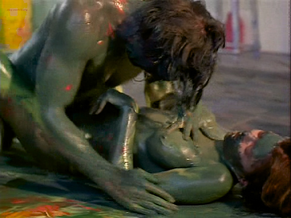 Kari Wuhrer nude full frontal, bush, butt, boobs and sex - Vivid (1999) (4)