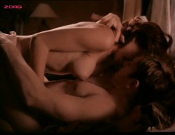 Kari Wuhrer nude topless and sex - Sex and the Other Man (1995) (13)