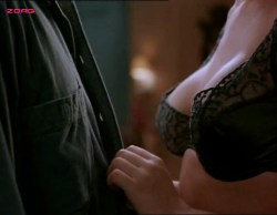 Kari Wuhrer nude topless and sex - Sex and the Other Man (1995) (12)