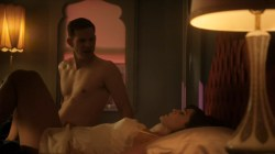 Lizzy Caplan nude topless Rachelle Dimaria and Amanda Quaid nude and hot - Masters of Sex (2016) s4e3 HD 720p (5)