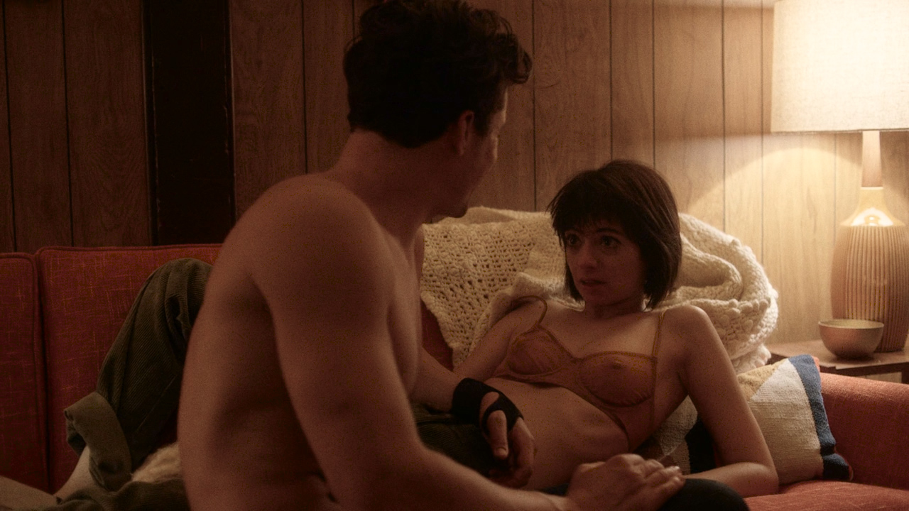 Malin Akerman Nude Topless And Sex And Kate Micucci Nude -2453